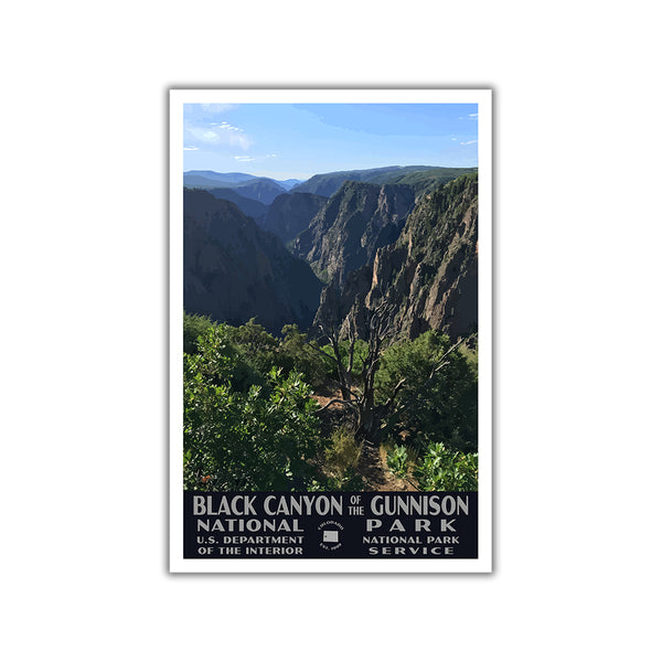 Black Canyon of the Gunnison National Park Poster-WPA