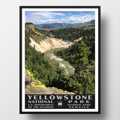 Calcite Springs WPA style poster
