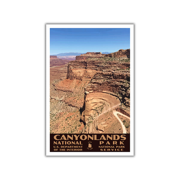 Canyonlands National Park Poster-WPA