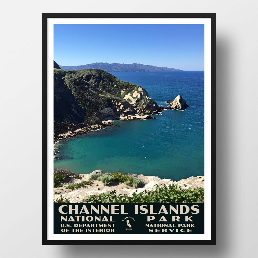 Channel Islands National Park Poster, WPA Style, Potato Harbor