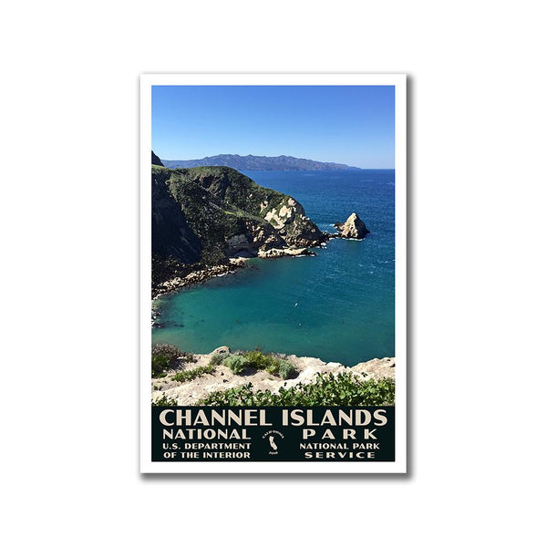 Channel Islands National Park Poster-WPA (Potato Harbor)
