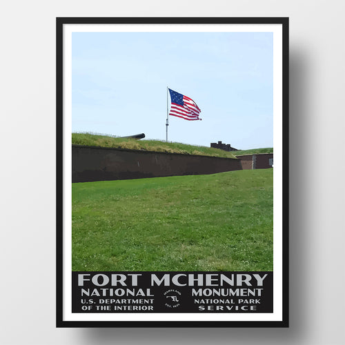 Fort McHenry National Monument poster,