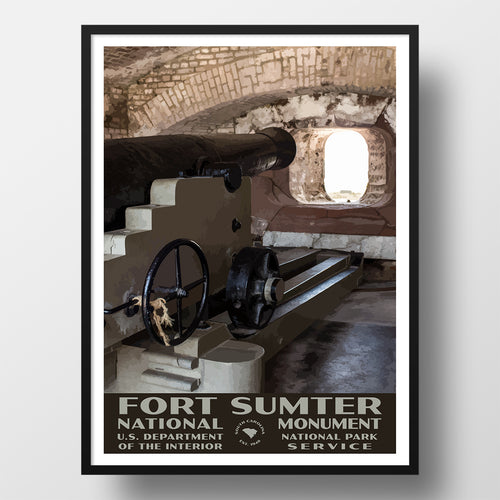 Fort Sumter National Monument poster