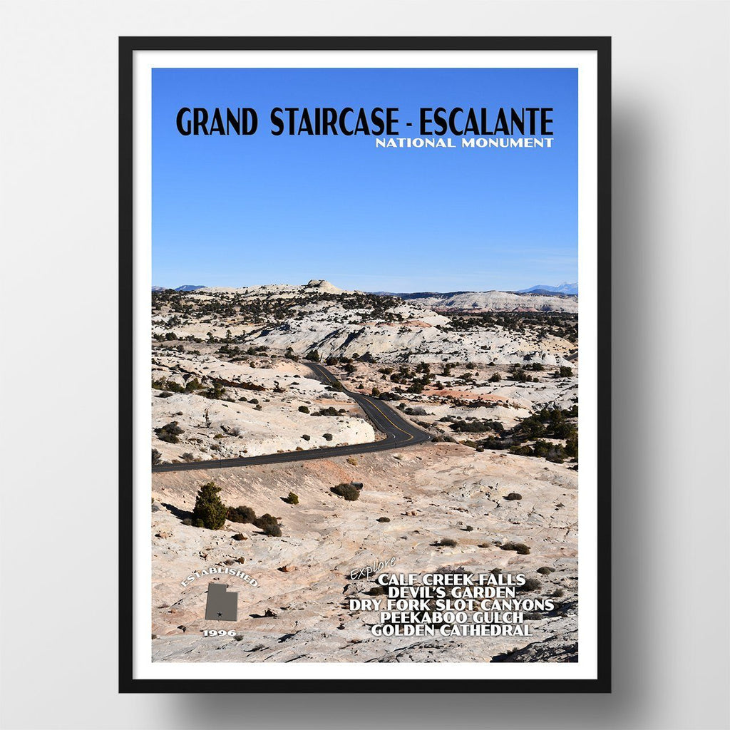 Grand Staircase-Escalante National Monument Poster
