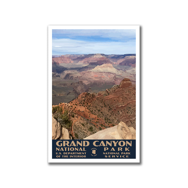Grand Canyon National Park Poster-WPA