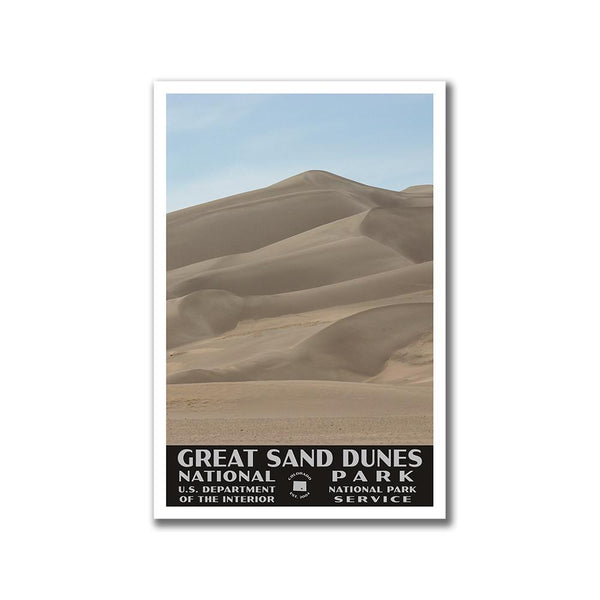 Great Sand Dunes National Park Poster-WPA