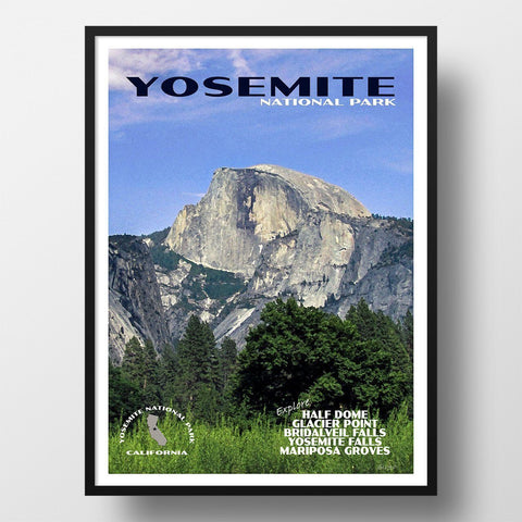 Yosemite National Park Poster-Yosemite