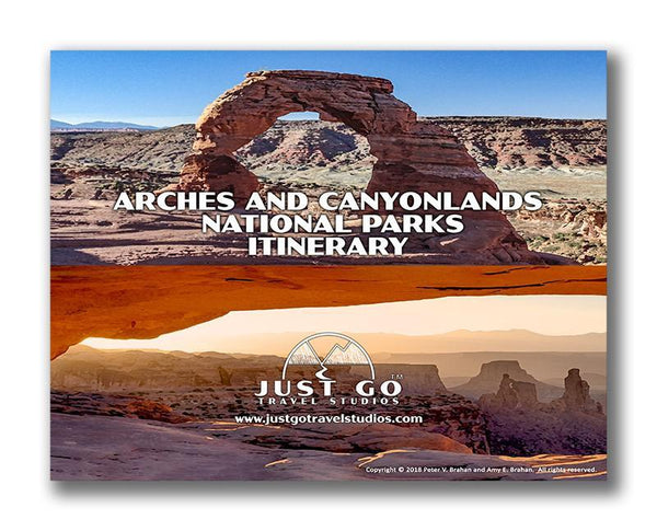 Arches National Park and Canyonlands National Park Itinerary
