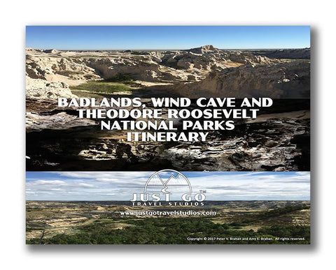 Badlands National Park, Wind Cave National Park and Theodore Roosevelt National Park Itinerary