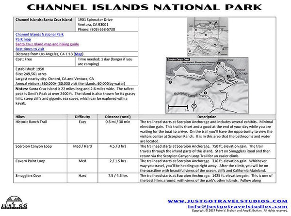 Channel Islands National Park Itinerary-Santa Cruz Island (Scorpion Anchorage)