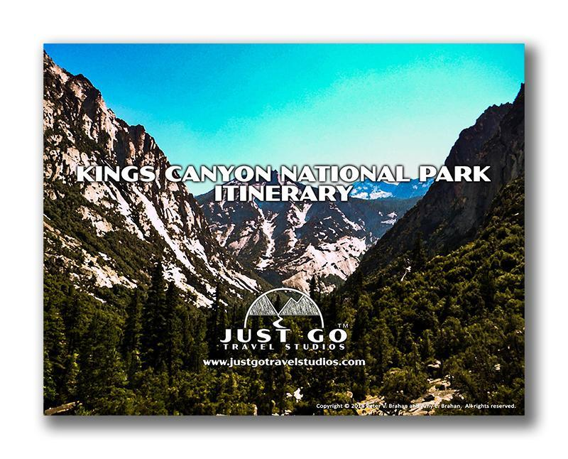 Kings Canyon National Park Itinerary