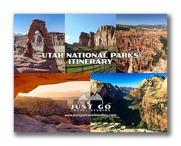 Utah National Parks Itinerary