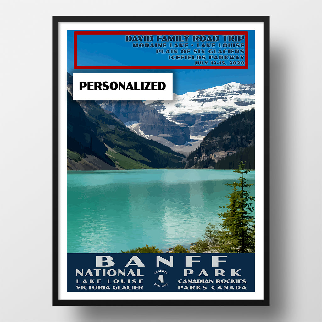 Banff National Park Poster