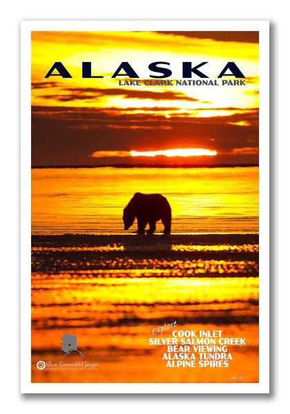 Custom National Park Postcards / Custom Travel Postcards