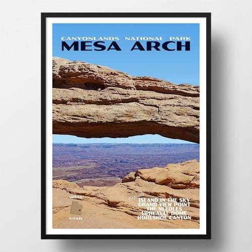 Canyonlands National Park Poster-Mesa Arch