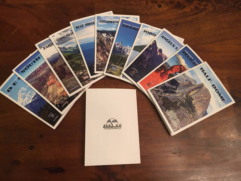 Custom National Park Notecards