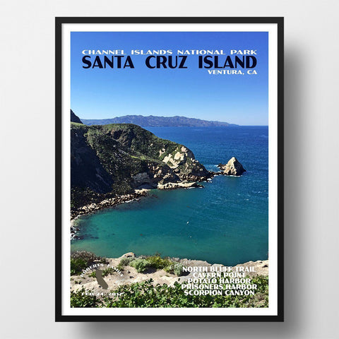 Channel Islands National Park Poster-Potato Harbor (Personalized)