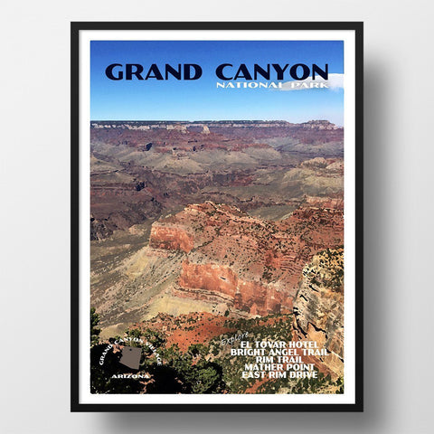 Grand Canyon National Park Poster-Grand Canyon