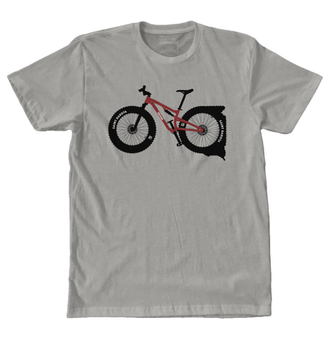 Saint Dakota (South Dakota) Fat Bike t-shirt