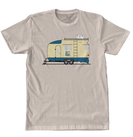 Saint Dakota Clothing Camper RV Travel Trailer Tee T-shirt