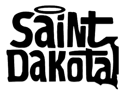 Saint Dakota Clothing (South Dakota) Vinyl Decal Sticker
