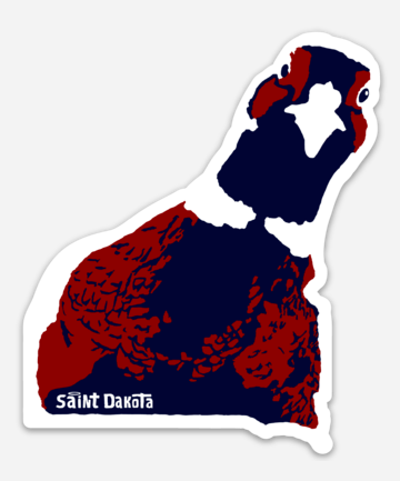 South Dakota Pheasant Hunting Sticker Vinyl Decal South Dakota Bird Hunting
