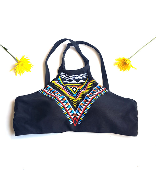 The Lakota Aztec Bikini Top - Lakota Inspirations