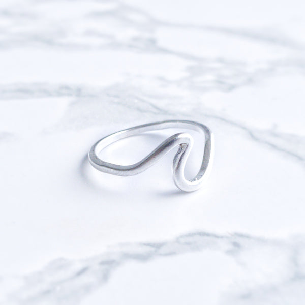 The Bohemian Wave Ring- Silver - Lakota Inspirations