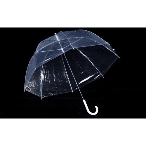 Clear Dome Shaped Umbrella
