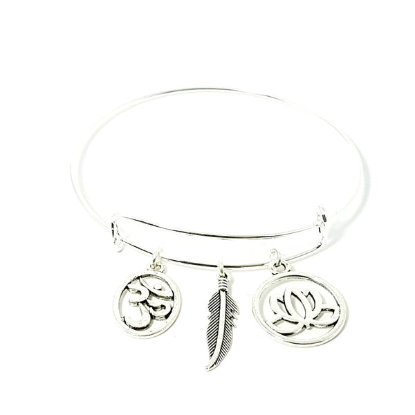 The Adjustable Charm Bangle: Divinity - Lakota Inspirations