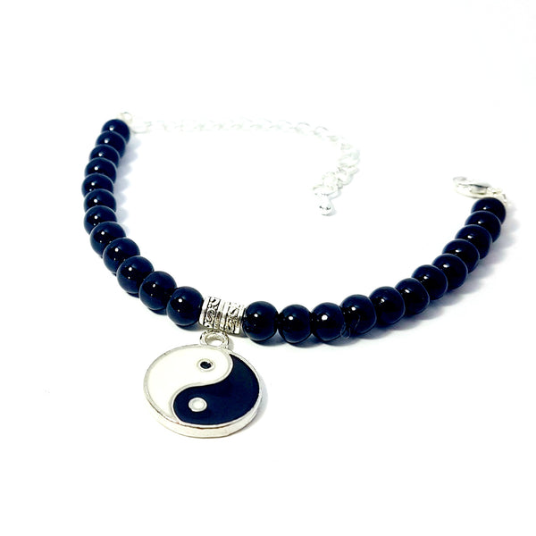 The Charmed Bracelet- Yin Yang - Lakota Inspirations