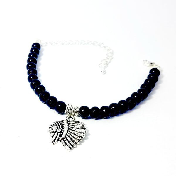 The Charmed Bracelet- Native Chief - Lakota Inspirations
