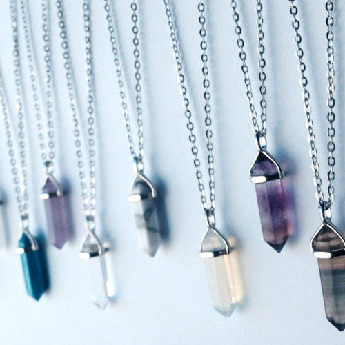 Silver Plated Crystals - Lakota Inspirations