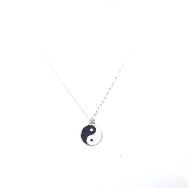 Yin Yang Charm Chain Necklace - Lakota Inspirations