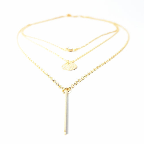 The Femme Fatale Layered Necklace - Lakota Inspirations
