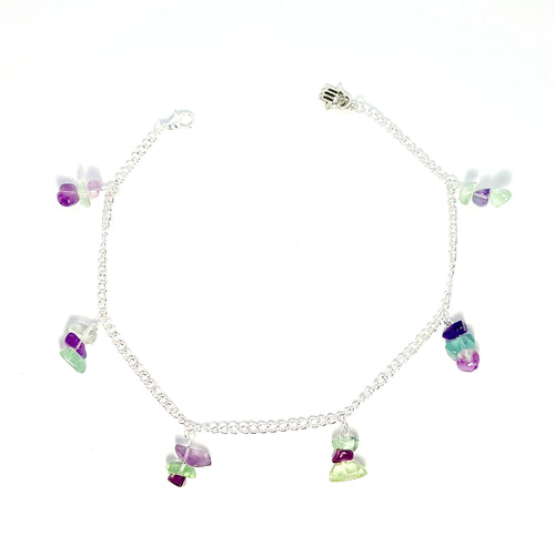 Gemstone Chain Anklet - Lakota Inspirations