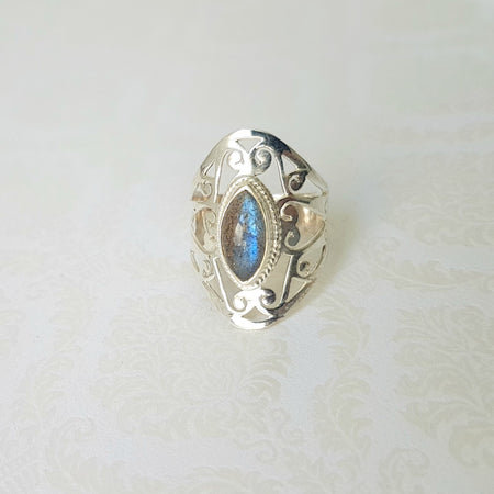Tree of Life Silver Plated Ring