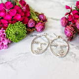 The Picasso Art Deco Earrings