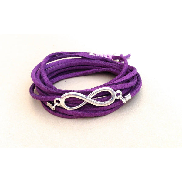 Infinity 3-in-1 Wrap Bracelet/Anklet/Necklace