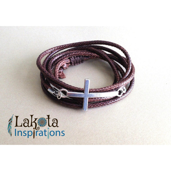 Cross Wrap Bracelet (Assorted)