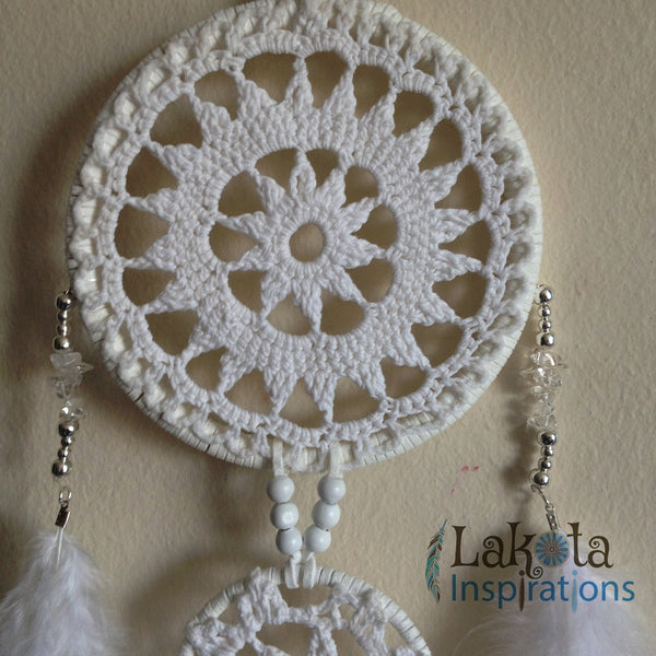 Crochet Double Tier Dream Catcher