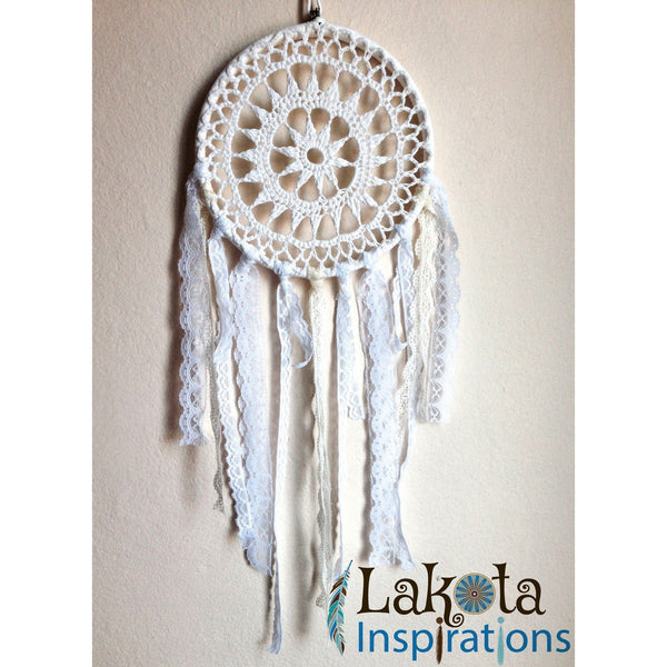 Crochet Lace Dream Catcher