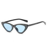 Infinite Ibiza Studded ☆ Blue Black Sunglasses