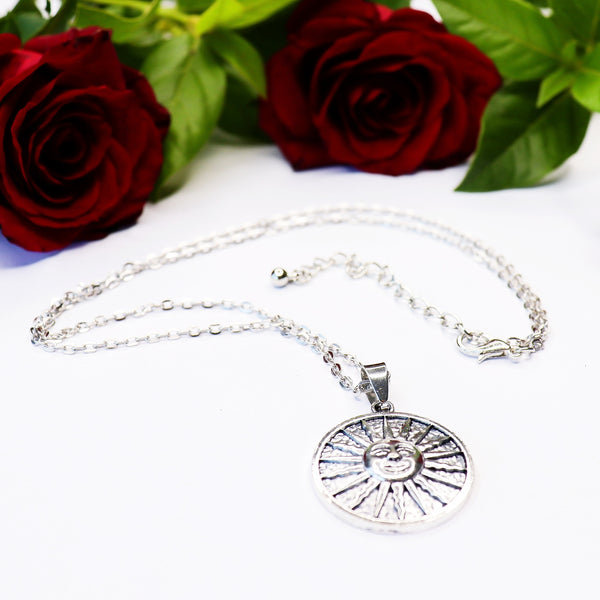 The Surya Charm Necklace