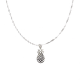 925 Sterling Silver Pineapple Xpress Necklace
