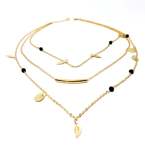 The Wanderlust Layered Gold Necklace Set - Lakota Inspirations