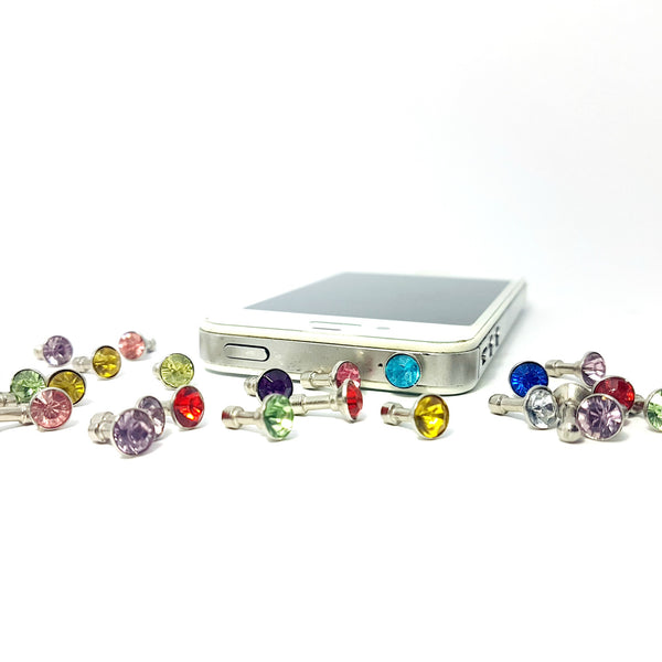 Diamante Phone Dust Plug - Lakota Inspirations