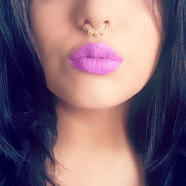 Faux Septum Clicker- The Aztec - Lakota Inspirations