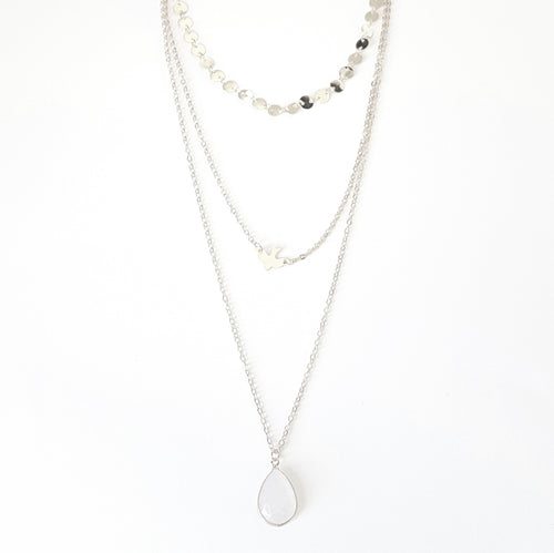 A Drop in the Ocean Layered Necklace Set - Lakota Inspirations