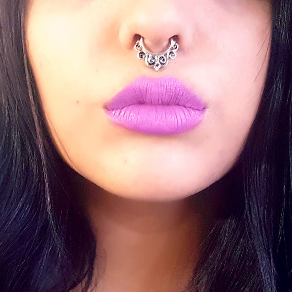 Faux Septum Clicker- The Mayan - Lakota Inspirations
